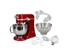 AEG Küchenmaschine Ultramix KM4000, 1000 W, 4,8 l Schüssel, rot