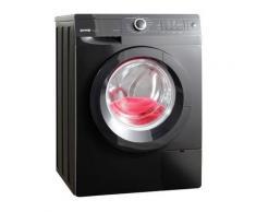 GORENJE Waschmaschine W8543T, 8 kg, 1400 U/Min, Frontlader, schwarz, A+++