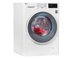 LG Waschtrockner F 14WD 85EN0, 8 kg/5 kg, 1400 U/Min, Wäschetrockner, weiß