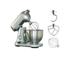 Gastroback Küchenmaschine Design Advanced Pro, 1000 Watt, 4,7 l, silber