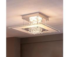 Ausgefallene LED-Bad-Deckenleuchte Lisandra