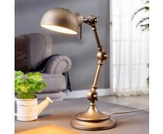 Ellisen - Schreibtischlampe in Bronze