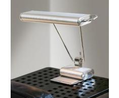 TECNOLUMEN Art Déco Schreibtischleuchte B: 44 H: 49 cm, chrom/aluminium matt AD34, EEK: A++. Diese Leuchte ist geeignet für Leuchtmittel der Energieklassen: A++, A+, A, B, C, D, E.