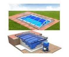 Swimmingpool-Komplettset Quattro Klasik Clear Premium+