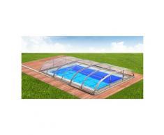 Swimmingpool-Überdachung Dallas Clear B