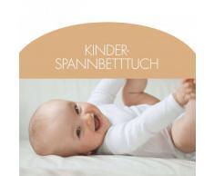 """Kinder-Spannbettlaken """"Baby"""" Größe 40x90 cm"""
