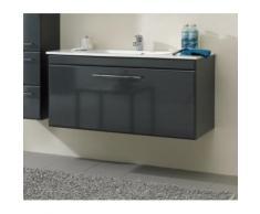ROLLER Waschtischunterschrank, Badschrank SEO Grey - 105 cm Breite