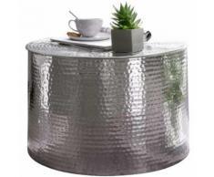 ROLLER Loungetisch Rahi - silberfarben - Aluminium