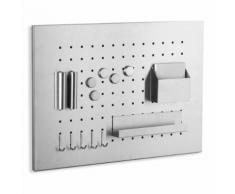 ROLLER Memoboard - Edelstahl - 13 Teile - 35x50 cm