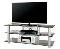 VCM TV-Möbel Lotasa Big / LCD Rack, LED Tisch Alu Glas