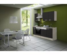 Küchenzeile ohne E-Geräte »Skagen«, Breite 210 cm
