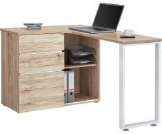 Eck-Schreibtisch, Maja Möbel, »Icy«