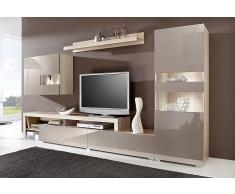 schrankwand wohnwand g nstig moderne wohnw nde. Black Bedroom Furniture Sets. Home Design Ideas