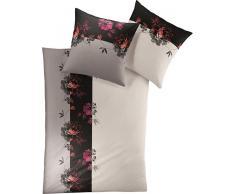 Bettwäsche, Irisette, »Luna 8119«, mit Blumenmotiven