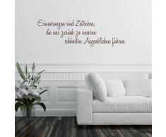 Home affaire Wandspruch Erinnerungen sind ..., 120/40 cm