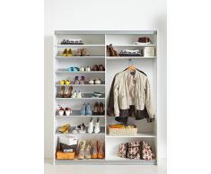 Garderobenschrank, CS Schmal, »Soft Smart«, 150 cm breit