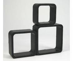 VCM 3-tlg. Regal Cube / Hängeregal, Wandregal
