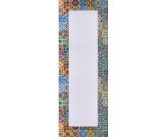 Wandspiegel, Home affaire, »Gemusterte Keramikfliesen«, 50/140 cm