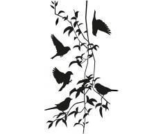 Wandtattoo, Home affaire, »Liane mit Vögeln«, in 2 Größen