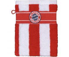 FC Bayern München Waschlappen rot/weiß