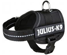 Hunde-Geschirr »Julius-K9 Baby 1/XS«, schwarz, 30-40 cm