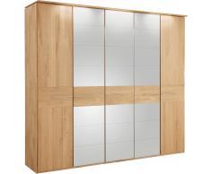 THIELEMEYER® Drehtürenschrank mit Spiegeltüren »Bari«, Eiche, in 3 Breiten