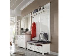 HOME AFFAIRE Home affaire Garderoben-Set »Chateau« (4-tlg.), weiß