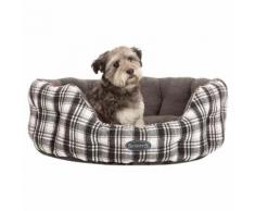 Scruffs Hundesofa Edinburgh Grau, Gr. 4