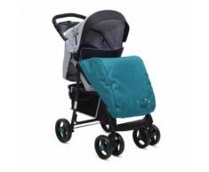 Kombikinderwagen Lea 2 in 1 mit Babyschale, Vorderräder 360°