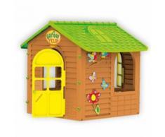 Mochtoys 10830 Spielhaus, Gartenhaus Frühling 122 x 120 x 120,5 c