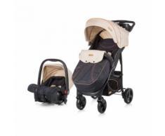 Chipolino Baby Kombikinderwagen Passo 2 in 1 mit Autositz, Fußsa