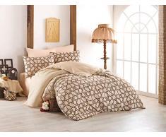 EnLora Home Bettdecke, Einzelbett, Beige, 155 x 220 cm, 2 Einheiten