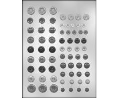 CK Products Schokoladenform mit Knopfleiste
