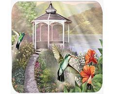 Caroline s Treasures ptw2053cmt Garten Pavillon Kolibri Duo Küche oder Badteppich, 20 durch 76,2 cm Multicolor