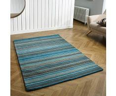 Oriental Weavers Teppich, 100% Wolle, blau, 120 x 170 cm