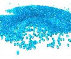 Liying shop Acryldiamanten künstliche runde Kristalle für Tischkonfetti, Tischstreuer, Vasenfüller, Kunst & Handwerk, Hochzeitsdekoration (2,5 mm), 10.000 Stück 2.5mm Aqua Blue