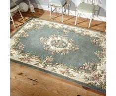 Oriental Weavers Teppich, 100% Wolle, grün, 120 cm x 120 cm