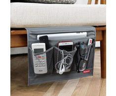 Nachttisch Lagerung Organizer, Caddy, Tisch Schrank Aufbewahrung Organizer, grau