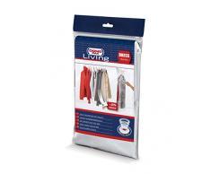 Domopak Living 913006 Handy platzsparend Vakuum Hängeorganizer für Kleidung, Polyethylen/Polyamid, 70 x 145 cm