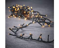 luca lighting Weihnachtsbeleuchtung, PVC, warm Weiss, 740 Zentimeter