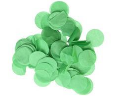 Wrapables 2,5 cm rund Gewebe Konfetti Party Dekorationen für Hochzeiten, Geburtstagsfeiern, und Duschen waldgrün