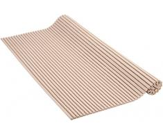 Venilia Weichschaummatte VenisoftUni taupe rutschfester Bodenbelag Duschmatte Anti-Rutschmatte, PVC-Polyester, Taupe, 0,5 x 65 x 200 cm, 54163