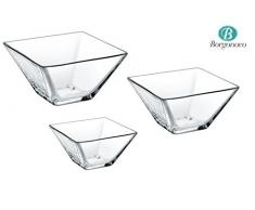 UTOPIA Glas Esstisch, g140997220, Quadro Schüssel 7,6 cm (8 cm) 3.75oz (11CL) (Box Of 24)