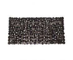 VTurboWay Anti-Rutsch Antibakterielle Pebbles Stein Bad-Teppiche, rutschfestem Dusche-Teppiche, maschinenwaschbar (schwarz, 35,6 cm W x 68,6 cm L, Bitte die Maße Überprüfen)