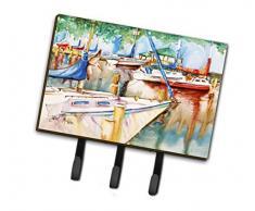 Caroline s Treasures jmk1043th68 Segelboote bei der Pavillon Leine oder Schlüsselhalter, groß, Multicolor