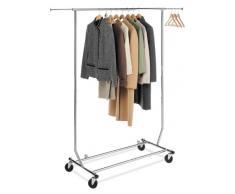 Whitmor Verstellbarer Kleiderständer, zusammenklappbar, Chrom