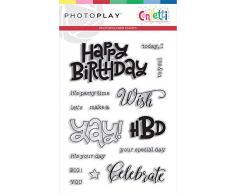 PHOTOPLAY CFT9614 Stempel Konfetti