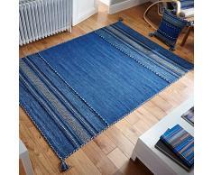 Oriental Weavers Teppich, blau, 67cm x 220cm