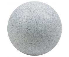 Leuchtkugel Mundan granit 600 mm, für Innen und Außen
