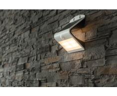 Solar LED Wandleuchte Brighter mit Bewegungsmelder und Dauerlicht